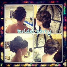 Event hair artistry by Pure Hair Artist- Davina Quinonez. Make your reservation with her today for your next party or event. www.artistryspasalon.com