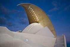 Tenerife Concert Hall, Santa Cruz de Tenerife, Canary Island, Spain, Santiago Calatrava