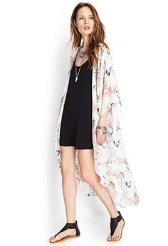kimonos for dayz Cool Outfits, Summer Outfits, Casual Outfits, Fashion Outfits, Womens Fashion, Floral Outfits, Maxi Cardigan, Long Cardigan, Floral Maxi