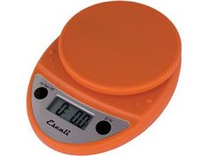 Pumpkin Orange 11-lb. Primo Digital Scale by Escali at Cooking.com