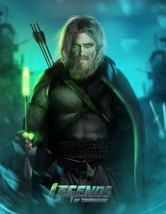 2046's Green Arrow from Legends of Tomorrow.