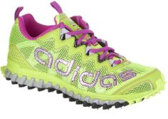 #Adidas Vigor 3 Trail Shoes - Electricity/Pink/Silver (Womens) - 7.5
