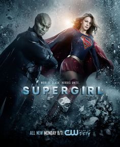 Supergirl S2 Promotional Poster
