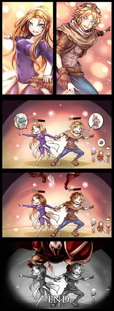 [LOL] 3)Lux x Ez END by beanbean1988 on deviantART