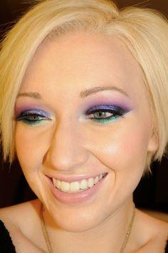 Purple Spotlight Makeup