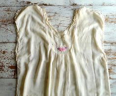 1930s Summer Nightgown Large Size by marybethhale on Etsy, $24.00