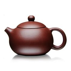 XDOBO Chinese Purple Clay Teapot, Full Handmade Teapot, Undressed Ore Archaize Tea Pot- * More info could be found at the image url. (This is an affiliate link) Asian Living Rooms, Yixing Teapot, Clay Teapots, Toilet Design, Chinese Tea, Pottery, Ceramics, Tea Sets, Purple