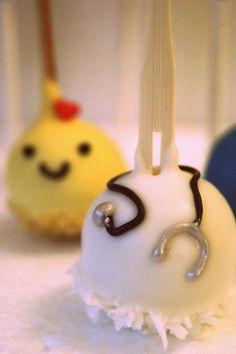 Happy Nurses Appreciation Week <3 Doctor/Nurse cake pops