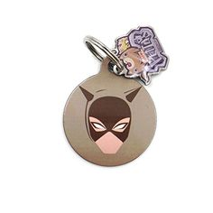 happypettag Personalized Pet Tag Catwoman Pet ID Tag Customized Pet ID Tags Dogs Cat ID Tags Double Side Dye Sublimation Includes up to 3 Lines of Customized Text on back >>> For more information, visit image link.(This is an Amazon affiliate link and I receive a commission for the sales)