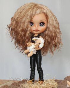 Vlastní Blythe Doll OOAK НиКки od Katalena