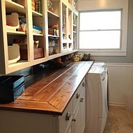 Remodeled Laundry Room/Pantry Area My laundry room was dark, cluttered and not very functional. It always looked like it was a mess. This is the roo...#/491464/remodeled-laundry-room-pantry-area?&_suid=135916644862806432211532116974