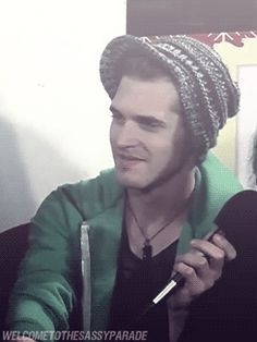 mikey way smiling danger days gif