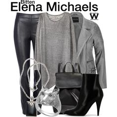 Inspired by Laura Vandervoort as Elena Michaels on Bitten.