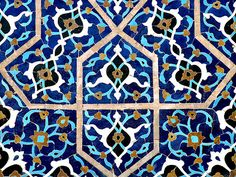 Isfahan / Jame Mosque / Tile works