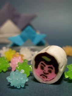 Japanese sweets / 金太郎飴(Kintaro candy)
