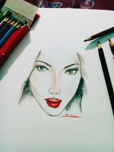 Guess who?? #girl #sketch