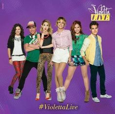 Violetta Live 2015 v love 4 ever! Violetta And Leon, Violetta Live, Violetta Disney, Netflix Kids, Disney Channel Shows, It Cast, Singer, Stars, My Love