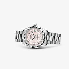 Discover the Datejust 31 watch in 18 ct white gold on the Official Rolex Website. Model: 178279