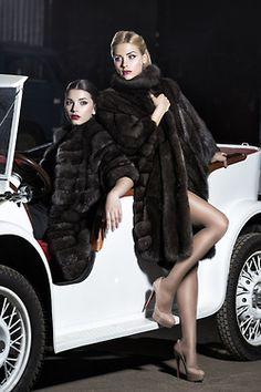Luxe calme et volupté.  Russian Siberian Sable fur #anandco #furonline #furfashion