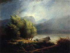 The Athenaeum - Landscape (James Peale - ) Hudson River School, Image Painting, Still Life, Waterfall, Landscape, Artwork, Artist, Nature, Scenery