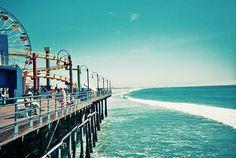 SAnta Monica boardwalk is a pretty rad place to spend the day