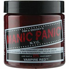 Manic Panic Semi-Permanent Hair Color Cream...hair color idea from Katie