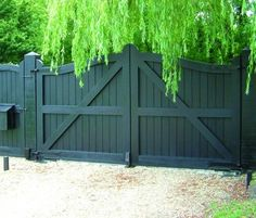 Automatic Gate over Driveway