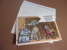 """Card Tutorial (Series Part-5) Feat. """"Crazy Dogs"""" by Tim Holtz - YouTube"""