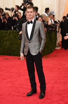 Andrew Garfield in Band of Outsiders at the Met Gala