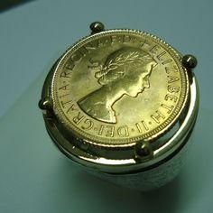 Anello argento oro e sterlina