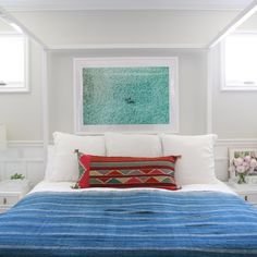 DIY Headboard Alternatives: 3 Bold Ways to Break Tradition  A bed without a headboard can have minimalist impact -- or, depending on the space, it can leave a large wall looking very empty and a bedroom uninspiring. Some bed frames simply don't come with headboards, but that doesn't mean you have to live with the look. We asked interior designer Amber Lewis of Amber Interiors to dream up three DIY headboard alternatives that you can achieve on a small budget -- and with little effort!