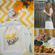 A Sunny Breakfast Shower and 24 other baby shower themes
