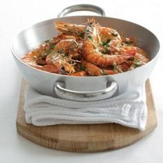 This is my favourite method for cooking prawns. It's no trouble to do and the gentle flavours of the marinade bring out the best in the prawns. Fish Recipes, Great Recipes, Favorite Recipes, How To Cook Prawns, Seafood Dinner, Cooking Instructions, Just Cooking, Food Inspiration, Roast