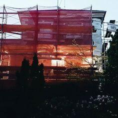 Nos chantiers brillent même de nuit! | Our construction sites shine even at night!  #chantier #constructionsite #travaux
