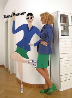 Prada Outfit by Neu4bauer ... colour blocking trend in 2011