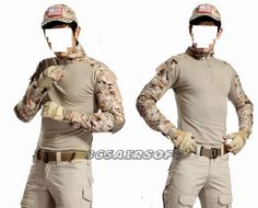 USMC Frog Combat shirt With Elbow(DS)