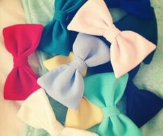 Wish i had more bows.....:(...... Remember what beth tells us..... BOWS BEFORE BROS ALWAYS!!!!!!!