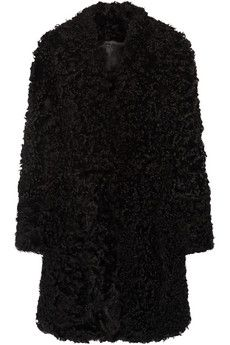 I want this Adam Lippes Shearling coat, but will probably wind up in a ZARA knock-off. Sometimes life just isn't fair like that.