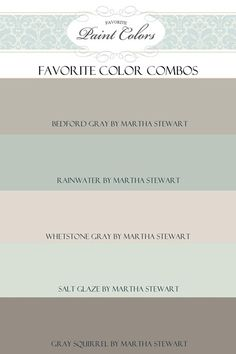 Favorite Paint Colors Blog- Perfect website for helping you decide on paint colors.