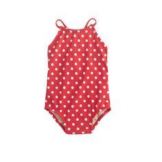 J.Crew - Baby one-piece swimsuit in polka dot