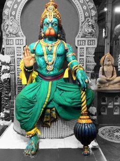 Shree Hanuman Ji Temple Brickfield, Kuala Lumpur Malaysia.