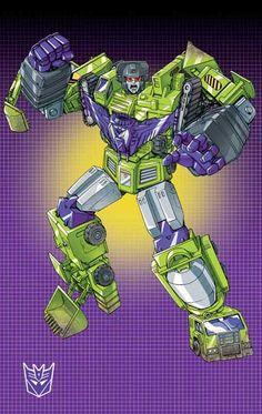 Decepticon Devastator (Constructicons) G1- by Dan-the-artguy.deviantart.com on @deviantART