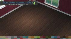 Wood Panel Flooring - Sims 2 Walls & Flooring - Dragon Black Sims