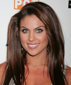 Makeup for Tan Skin, Brown Hair, and Blue Eyes. Days of Our Lives Actress Nadia Bjorlin's Makeup.