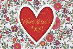 Valentine's Day by Alex.artline on @creativemarket