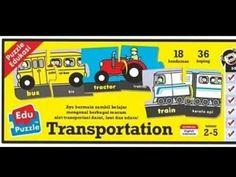 PUZZLE EDUKASI | Mainan Edukatif usia 2-5 tahun - YouTube Transportation, Puzzle, Train, Website, Youtube, Puzzles, Youtubers, Youtube Movies, Quizes