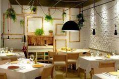 Bib Gourmand, la mejor calidad precio, con el aval de la Guía Michelin Table Settings, Ideas, Gastronomia, Restaurant Lighting, Gourmet Recipes, Cuisine, Interior Design, Restaurants, Get Well Soon