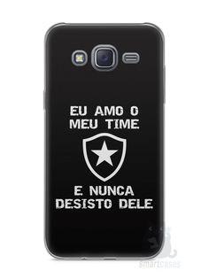 Capa Capinha Samsung J5 Time Botafogo #3 - SmartCases - Acessórios para celulares e tablets :)