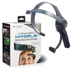 NeuroSky MindWave Mobile with MyndPlay - $129 | http://FuturisticShop.com/neurosky-mindwave-mobile-with-myndplay/