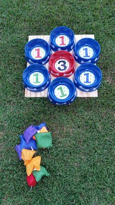 Paw patrol party game bean bag toss More